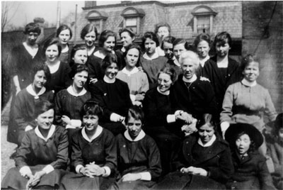 Church of England students and staff, circa 1918